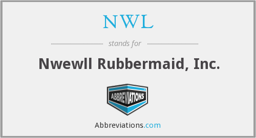 NWL - Nwewll Rubbermaid, Inc.