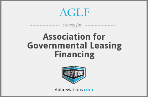 AGLF - Association for Governmental Leasing Financing
