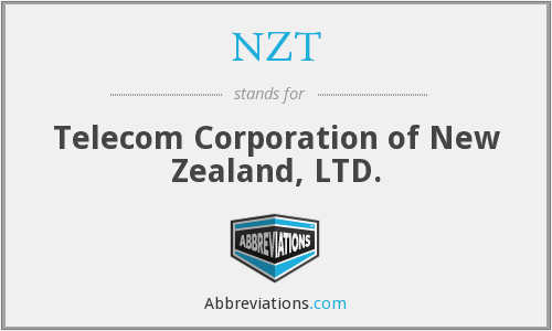 NZT - Telecom Corporation of New Zealand, LTD.