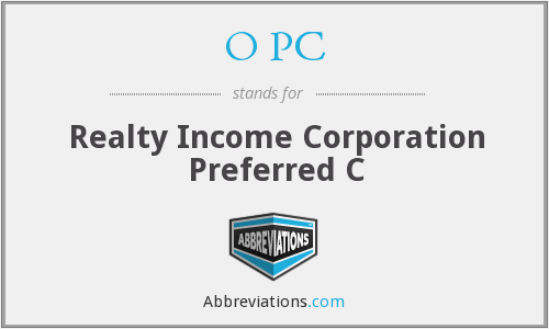 O PC - Realty Income Corporation Preferred C
