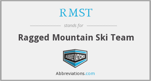 RMST - Ragged Mountain Ski Team