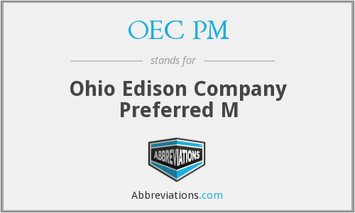 What does OEC PM stand for?