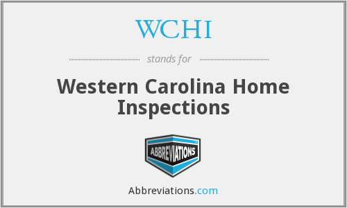 WCHI - Western Carolina Home Inspections