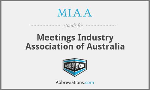 MIAA - Meetings Industry Association of Australia