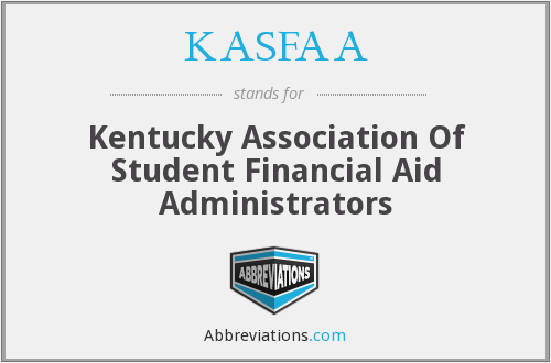 What does KASFAA stand for?
