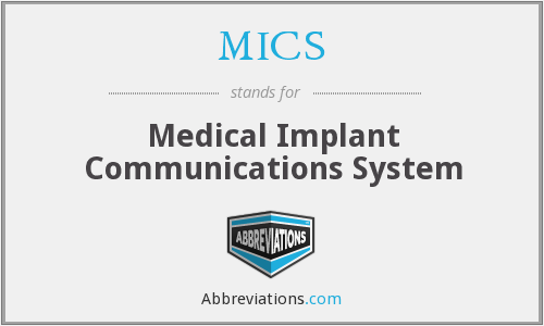 MICS - Medical Implant Communications System