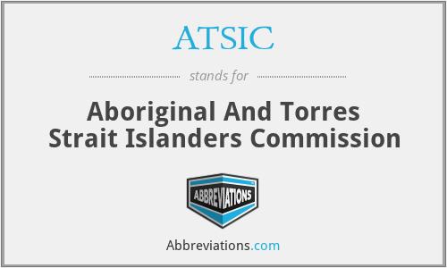 Abbreviation Of Aborigianl And Torres Strait Islander