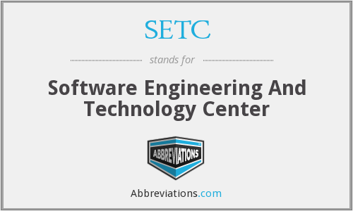 SETC - Software Engineering And Technology Center
