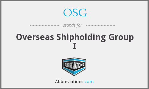 OSG - Overseas Shipholding Group I