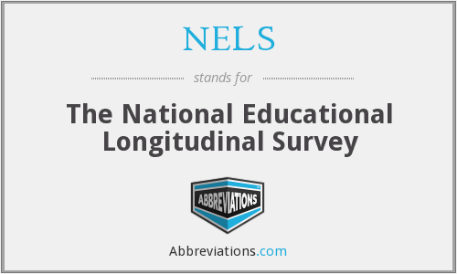NELS - The National Educational Longitudinal Survey