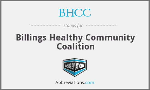 BHCC - Billings Healthy Community Coalition