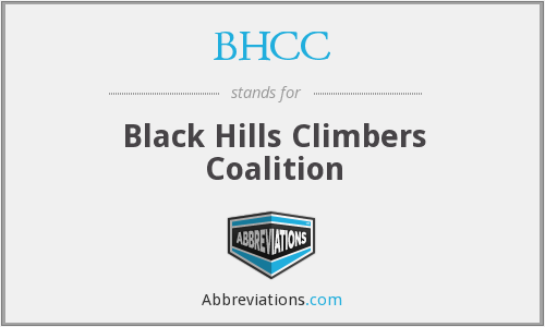 BHCC - Black Hills Climbers Coalition