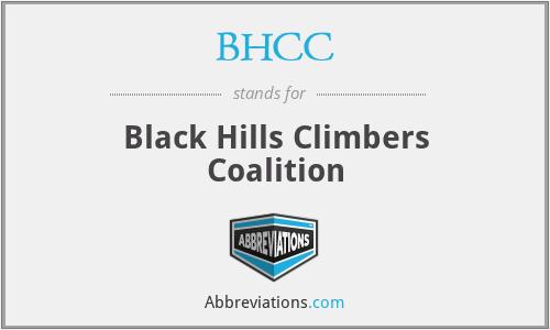BHCC - Black Hills Climbers Coalition