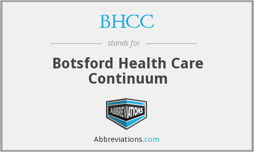 BHCC - Botsford Health Care Continuum