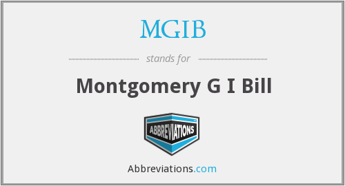 What does Montgomery stand for?