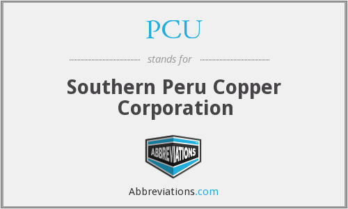 PCU - Southern Peru Copper Corporation