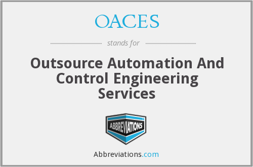 OACES - Outsource Automation And Control Engineering Services