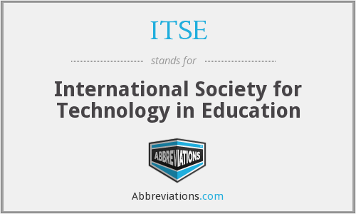 ITSE - International Society for Technology in Education