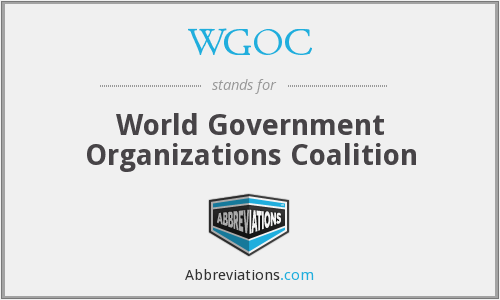 WGOC - World Government Organizations Coalition