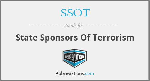 SSOT - State Sponsors Of Terrorism