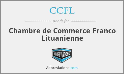 CCFL - Chambre de Commerce Franco Lituanienne