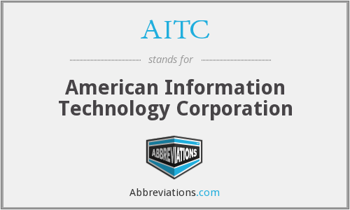 AITC - American Information Technology Corporation