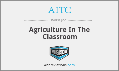 AITC - Agriculture In The Classroom