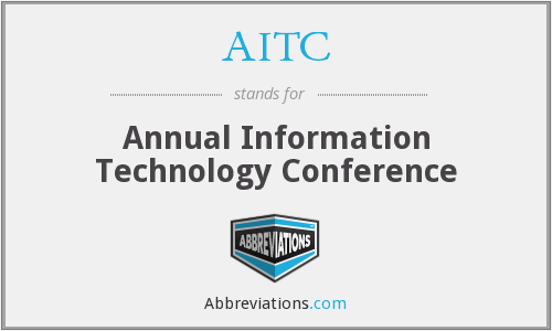 AITC - Annual Information Technology Conference