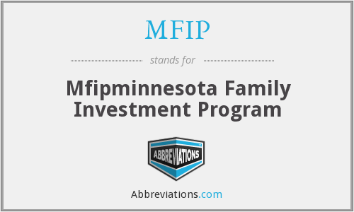 MFIP - Mfipminnesota Family Investment Program
