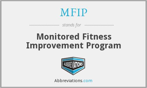 MFIP - Monitored Fitness Improvement Program