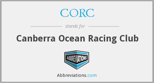 CORC - Canberra Ocean Racing Club