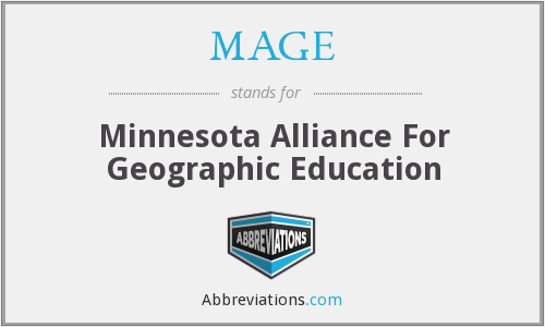 MAGE - Minnesota Alliance For Geographic Education