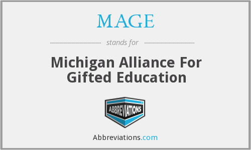 MAGE - Michigan Alliance For Gifted Education
