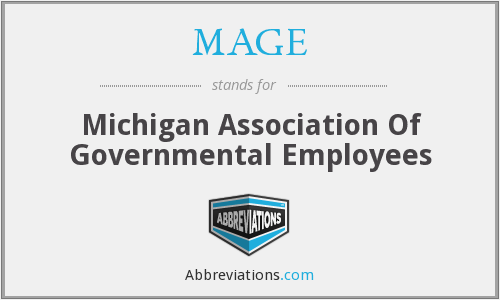 MAGE - Michigan Association Of Governmental Employees