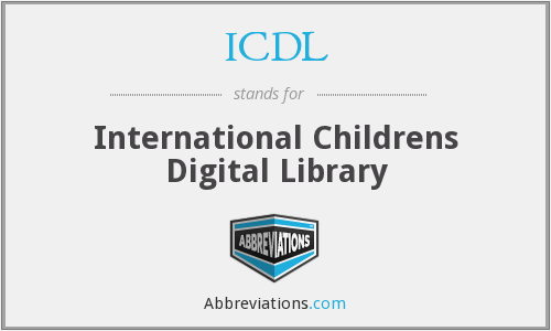 ICDL - International Childrens Digital Library