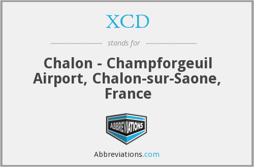 XCD - Chalon - Champforgeuil Airport, Chalon-sur-Saone, France