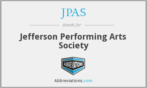 JPAS - Jefferson Performing Arts Society
