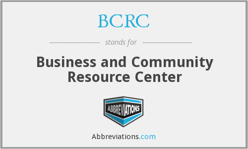 BCRC - Business and Community Resource Center