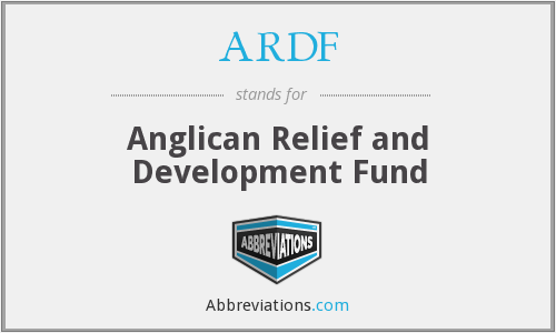 ARDF - Anglican Relief and Development Fund