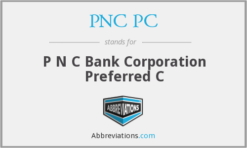 What does PNC PC stand for?