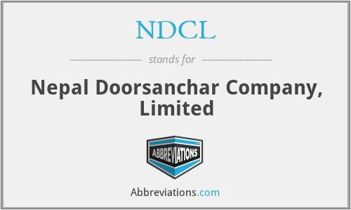 NDCL - Nepal Doorsanchar Company, Limited