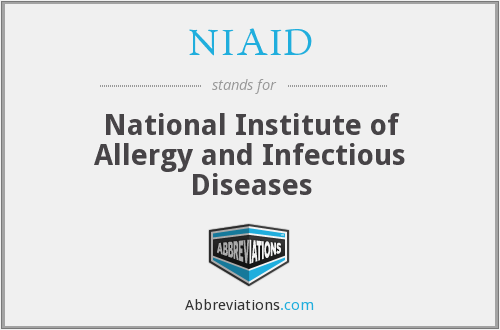 NIAID - National Institute of Allergy and Infectious Diseases
