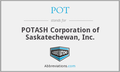 POT - POTASH Corporation of Saskatechewan, Inc.