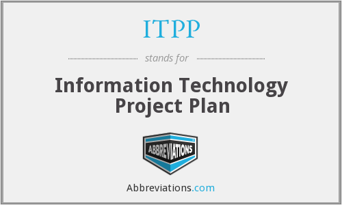 ITPP - Information Technology Project Plan