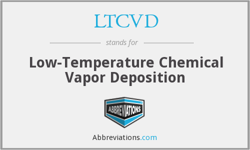 What does LTCVD stand for?