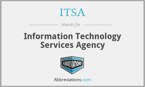 ITSA - Information Technology Services Agency
