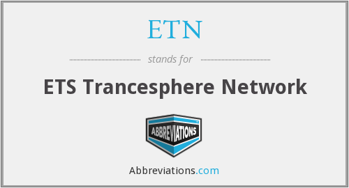 ETN - The Ets Trancesphere Network