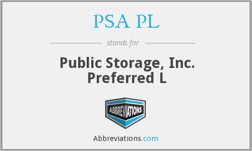 What does PSA PL stand for?