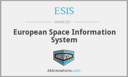 ESIS - European Space Information System