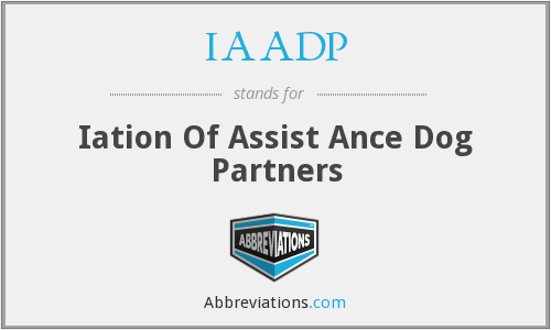 IAADP - Iation Of Assist Ance Dog Partners
